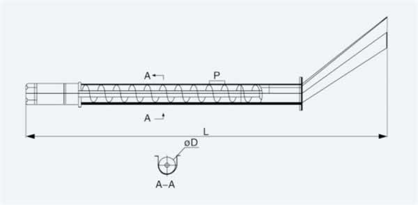 Шнековые транспортёры для удаления стружки